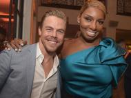 Derek Hough and NeNe Leakes - September 18, 2015 (Image Credit: Jason Kempin via Entertainment Weekly)